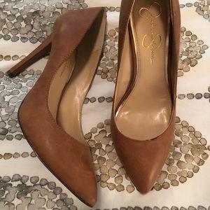 """Jessica Simpson Cognac 4"""" Heels"""